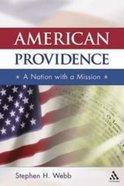 American Providence Paperback