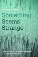 Something Seems Strange: Critical Essays on Christianity, Public Policy, and Contemporary Culture Paperback