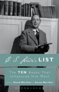 C. S. Lewis's List: The Ten Books That Influenced Him Most Paperback