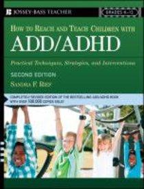 How to Reach & Teach Children With Add/Adhd