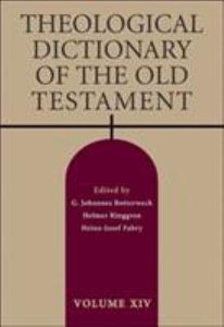 Theological Dictionary of the Old Testament (#14 in Theological Dictionary Of The Old Testament Series)