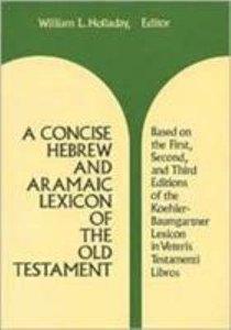Concise Hebrew & Aramaic Lexicon Old Testament