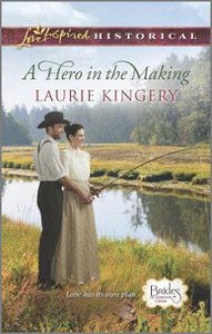 A Hero in the Making (Brides of Simpsons Creek) (Love Inspired Series Historical)