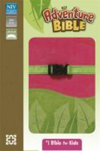 NIV Adventure Bible Soft-Tone Pink and Green
