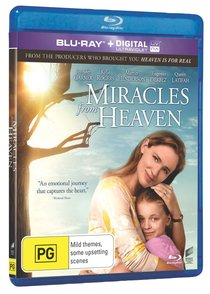 Miracles From Heaven Movie (Blu-Ray