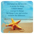 Meaningful Magnet: Serenity Starfish