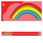 Magnet Strip: Grace and Peace Be Yours in Abundance (2 Pet 1:2)
