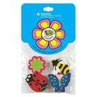 Eraser Pack: 4 Laedee Bugg #01 Pack
