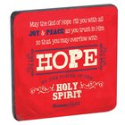 Wooden Magnet With Hanging Tag: Hope Red (Retro Blessings Hope Series)