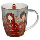 Gratitude Ceramic Mug: Angels