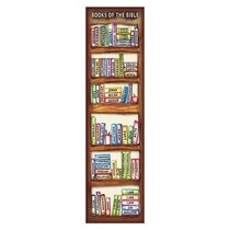 Bookmark Pack: Books of the Bible (Pack Of 10)