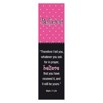 Bookmark Pack: Believe (Pack Of 10)