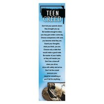 Bookmark Pack: Teen Creed (Pack Of 10)