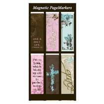 Magnetic Bookmarks Set of 6: Witness Gear