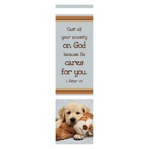 Bookmark Pack: Cast All Your Anxiety on God (Pack Of 10)