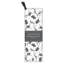 Bookmark: Trust in the Lord With All Your Heart Luxleather