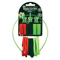 Hair Accessories: Laedee Bugg Red, Black & Green Bobbles & Bits