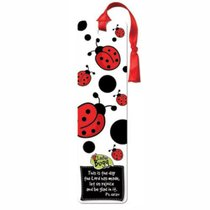 Bookmark With Tassel: Laedee Bugg - Lady Bug This is the Day the Lord Has Made