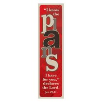 Bookmark Pack: I Know the Plans I Have For You (Pack 10)