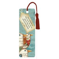 Bookmark With Tassel: His Love Endures Forever