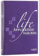 NKJV Life Application Bible 2nd Edition (Red Letter Edition) Hardback