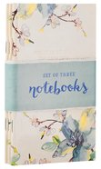 Notebook Set of 3: Flowers (3x Notebooks)