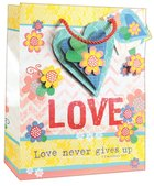 Gift Bag Medium: Love, Matching Tissue Paper Stationery