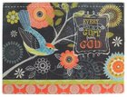 Glass Cutting Board - Every Day is a Gift From God (Chalk Bird Collection) Homeware