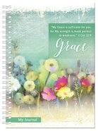 Spiral Hardcover Journal: Grace, 2 Corinthians 12:9