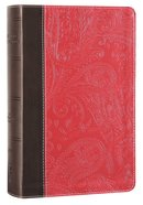 NIV Devotional Bible For Women Pink (Black Letter Edition) Premium Imitation Leather