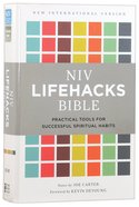 NIV Lifehacks Bible (Black Letter Edition) Hardback