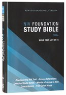 NIV Foundation Study Bible (Red Letter Edition) Hardback