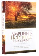 Amplified Holy Bible Large Print