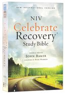 NIV Celebrate Recovery Study Bible (Black Letter Edition)