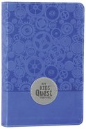 NIRV Kids' Quest Study Bible Blue (Black Letter Edition) Premium Imitation Leather