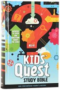 NIRV Kids' Quest Study Bible (Black Letter Edition) Hardback