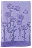 NIRV Kids' Quest Study Bible Lavender (Black Letter Edition) Premium Imitation Leather