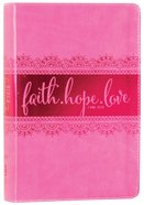 NIV Bible For Teen Girls Pink (Black Letter Edition)