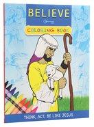 Believe Coloring Book Paperback