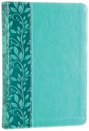 NKJV Gift Bible Turquoise (Red Letter Edition) Premium Imitation Leather