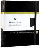 NKJV Holy Bible Journal Edition Black (Red Letter Edition)
