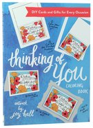 Thinking of You (40 Cards) (Adult Coloring Books Series) Paperback