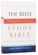 KJV Reese Chronological Study Bible Hardback
