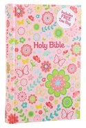 ICB Sequin Bible Compact Pink (Black Letter Edition) Hardback