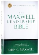 NIV Maxwell Leadership Bible Hardback
