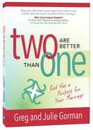 Two Are Better Than One Paperback