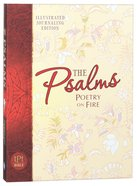 TPT Psalms: Poetry on Fire Illustrated Journaling Bible (Black Letter Edition) Paperback