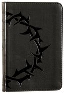 ESV Compact Bible Charcoal Crown (Black Letter Edition) Imitation Leather