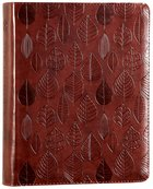 ESV Single Column Journaling Bible Chestnut Leaves (Black Letter Edition)