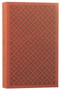 ESV Value Edition Bible Truflat Sienna Flower Print (Black Letter Edition) Flexi Back
